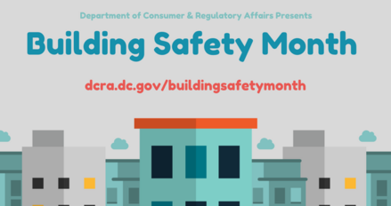 Building Safety Month Graphic