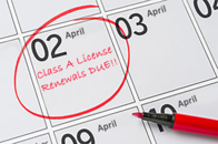 Class A renewals due April 2