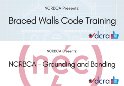 NCRBCA Code Training Graphic Collage