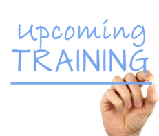 Upcoming training
