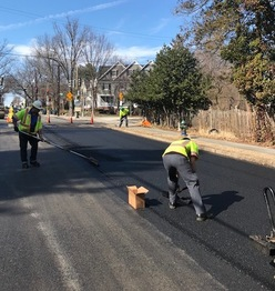 pavement marking