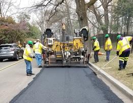 roadway paving