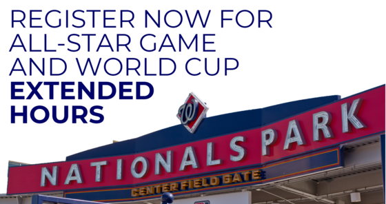 Register for All Star and World Cup extended hours