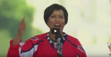 Caps Parade Speech