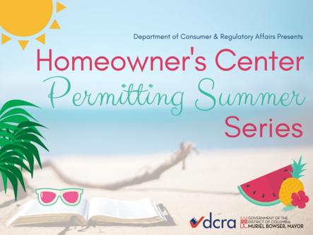 Summer Permitting Series Homeowner Center Graphic