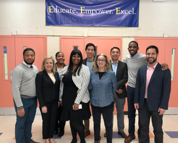 SBOE Visit to Excel Academy