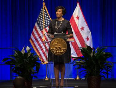 Mayor Bowser's Inauguration Pic
