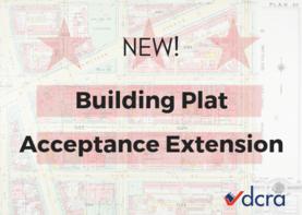 Building Plat Acceptance Extension Graphic