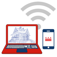 DCRA Online Services Graphic