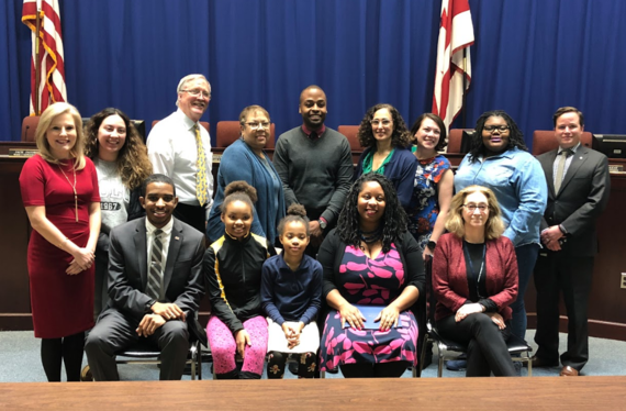DCPS Principal of the Year ceremonial resolution January 2019
