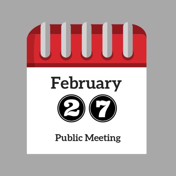 February Public Meeting