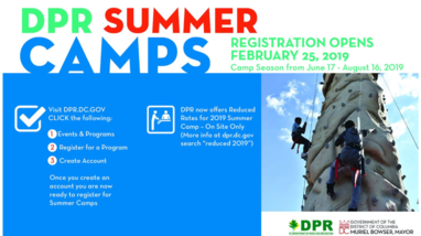 DPR summer camps