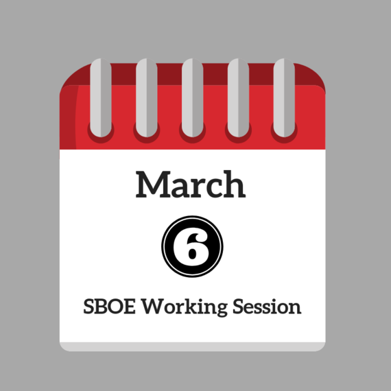 March 6 Working Session