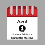 April Student Advisory Committee Meeting
