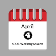 April Working Session