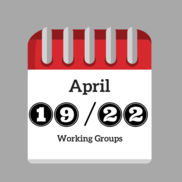 April Working Groups