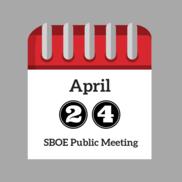 April Public Meeting