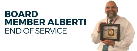 Nick Alberti End of Service