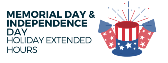 Memorial Day & Independence Day