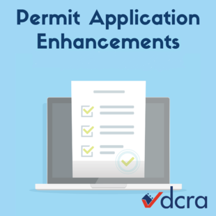 Permit Application Enhancements Graphic