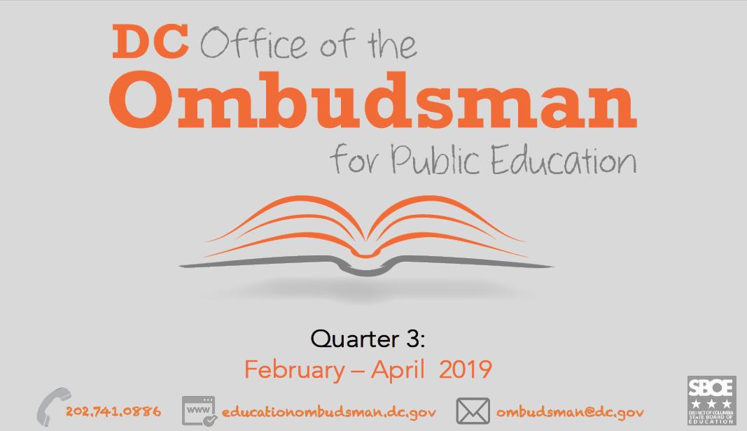 Ombudsman SY18-19 Q3 Report