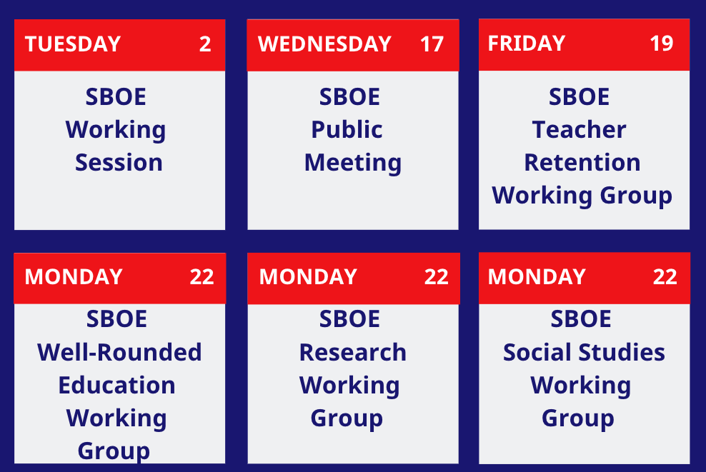 July Meeting Dates
