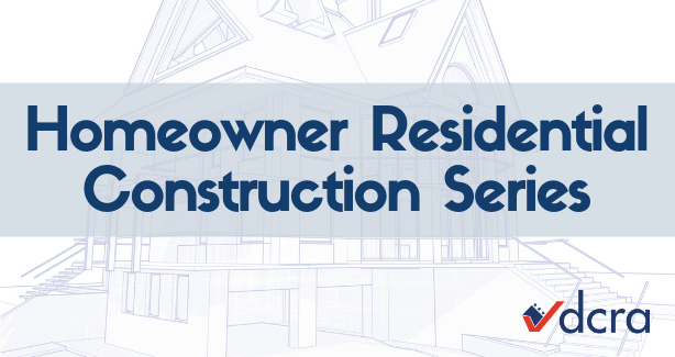 Homeowner Residential Construction Series Graphic