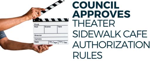 Sidewalk Cafe at Legitimate Theater
