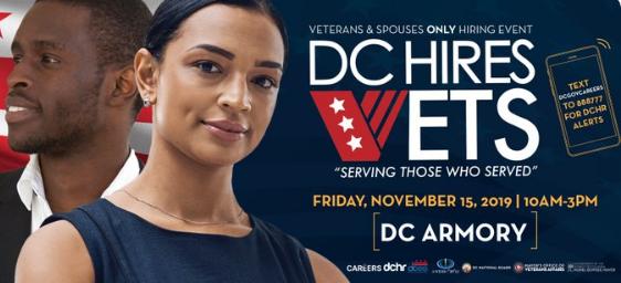 DC Hires Vets