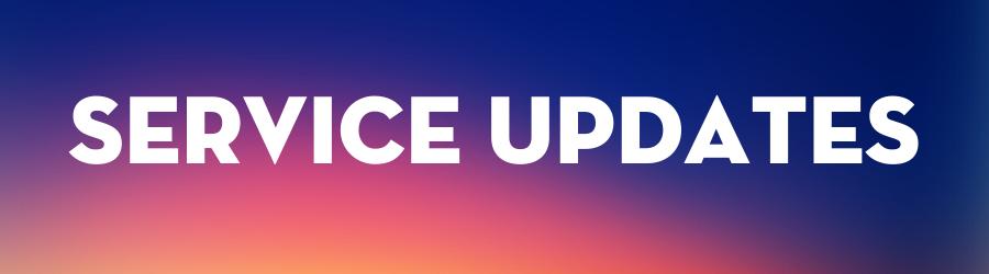 DCRA Service Updates Email Header Graphic