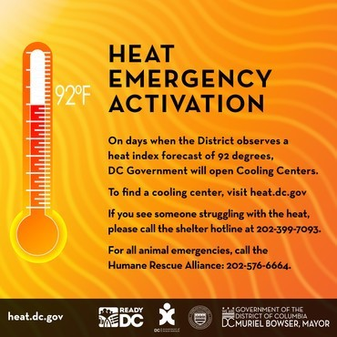 Heat Emergency 7.23.2020