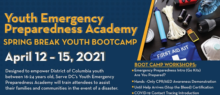 Spring Break Youth Bootcamp