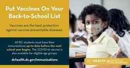 Back to School Vaccines