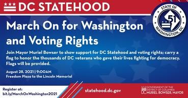March On for Washington Freedom Plaza