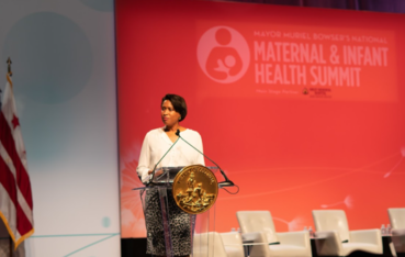 Mayor at National Maternal and Infant Health Summit