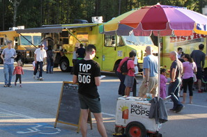 Food Trucks King of Pops