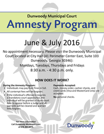 Amnesty Program 2016 updated