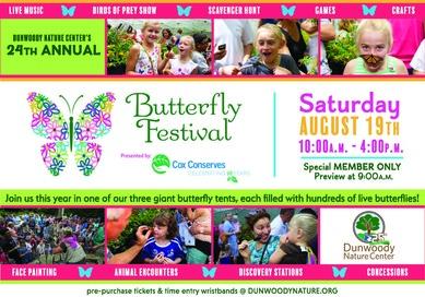 Dunwoody Nature Center Butterfly Fest