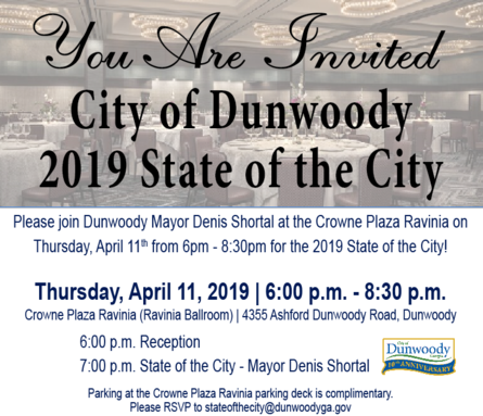 Dunwoody News: State of the City, Internet Safety Seminar