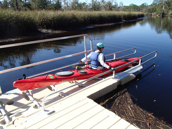 accessible launch at Ochlockonee River State Park by Doug Alderson