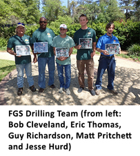 FGS Drilling team photo