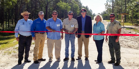 silver springs forest conservation ribbon cutting