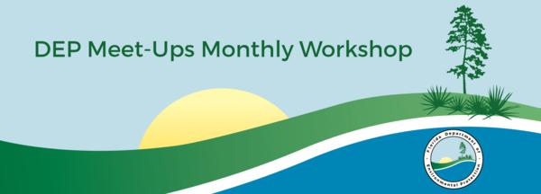 DEP Meet-Ups Monthly Workshop header