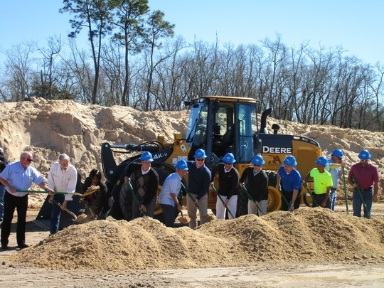 Springfield wastewater treatment plant groundbreaking