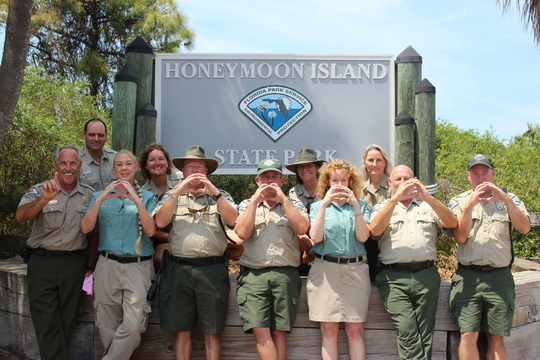 Honeymoon Island State Park Staff