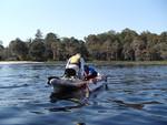 paddlesports training at Lake Louisa by Doug Alderson