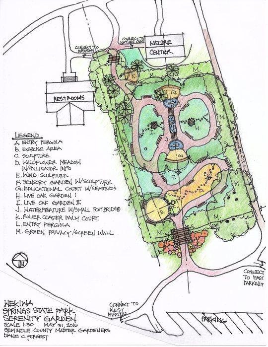 Serenity Garden Plan