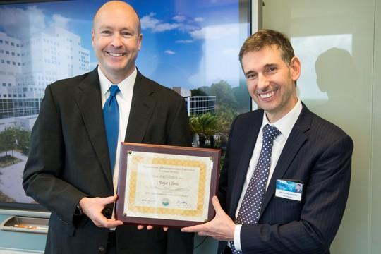 mayo clinic environmental stewardship award