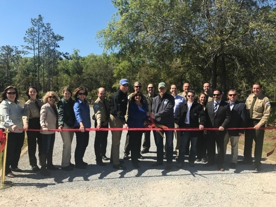 Florida Park Service Celebrates New Campground at Colt Creek