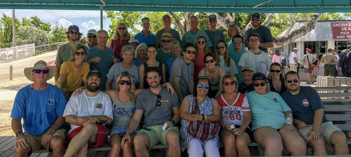 Pennekamp Family Holds Reunion at John Pennekamp Coral Reef State Park